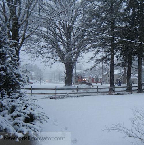Snowplow cometh