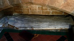 Effigy of priest c1450