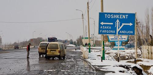 Ташкент, Фергана, Андижан