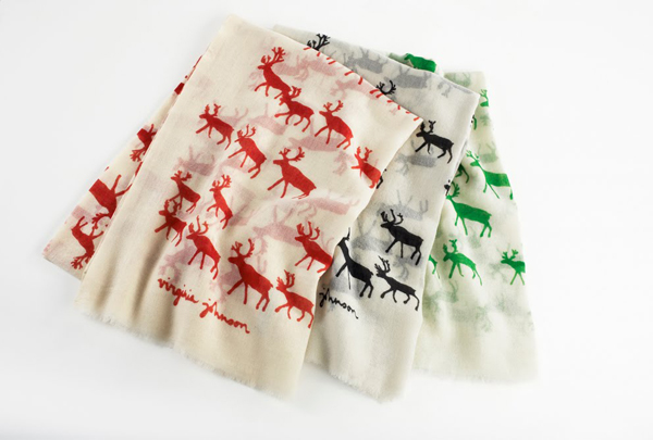 Virginia Johnson Elk Scarves