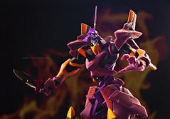 EVA-01 Type F (08Allan80) Tags: anime toy war eva fighter flame kaiyodo theotherside typef revoltech revolverjoint