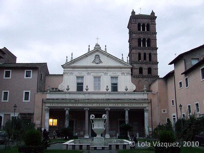Santa Cecilia in Trastevere. © Lola Vázquez, 2010