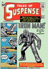 Tales of Suspense - Iron Man - PlayStaiton Digital Comics