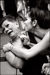 kiss me !! (fly) Tags: show thailand asia dancer cabaret backstage ladyboy pattaya earthasia fly simonkolton