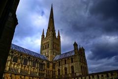 Norwich Cathedral 3 (Jasondrye) Tags: church cathedral churches cathedrals norwich hdr tonemapped