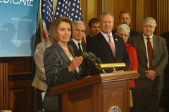 Press Conference on Benefits of Health Insurance Reform to Seniors by Leader Nancy Pelosi