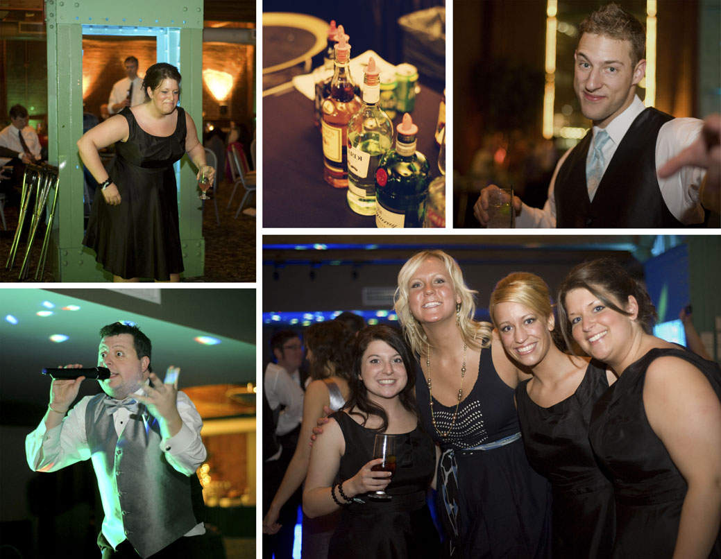 Selection of reception photos