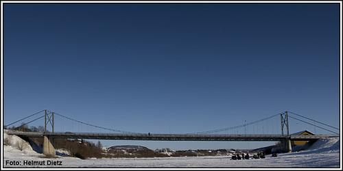 Bridge-Karasjok-Norway, Karasjokka River