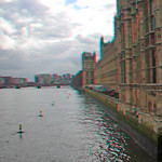 Houses of parliament in anaglyph 3D thumbnail