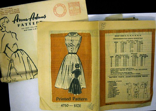 Vintage Anne Adams Printed Pattern 4750