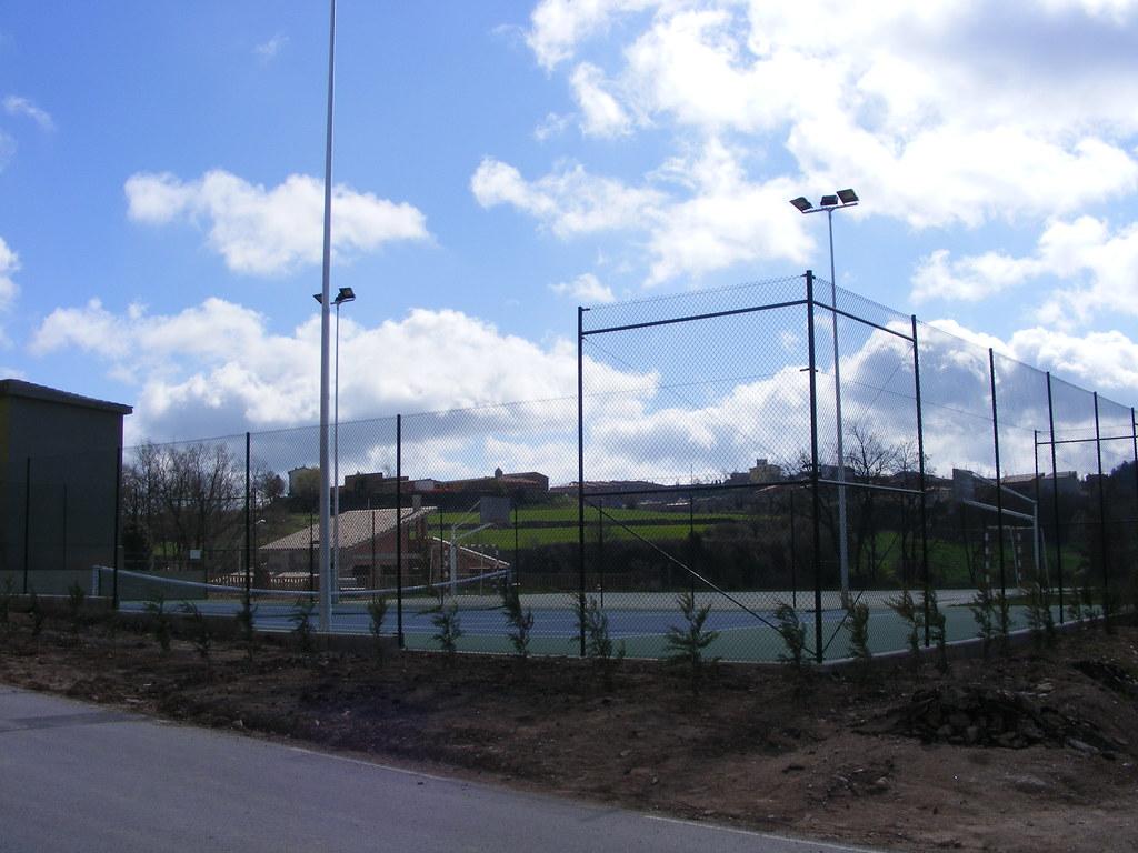 Pista de tenis del veïnat de la Codina