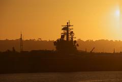 Aircraft Carrier Sunset Wallpaper Aircraft Carrier Sunset 2