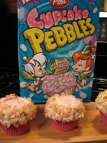 Cupcake Pebbles Cupcakes