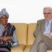 Chefe de gabinete Fernando Schmidt recebe a Presidente da Libéria Ellen Johnson-Sirleaf