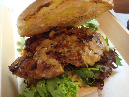 Pork burger@Beastie Burgers