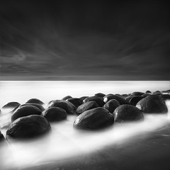 (maxxsmart) Tags: ocean california longexposure winter sea sky blackandwhite bw seascape water clouds contrast canon square landscape coast blackwhite sand rocks shadows pacific january highway1 pacificocean lee round lowtide try 5050 tides hightide 1x1 2010 ef1740f4l longdrive daytimelongexposure schoonergulch andtryagain 10stopnd bwnd110 5dmarkii mendacinocounty 9hardedgendgrad blowlingballbeach