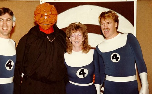 Fantastic Four at TimeWarped Convention