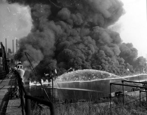 brah blog: cuyahoga river fire