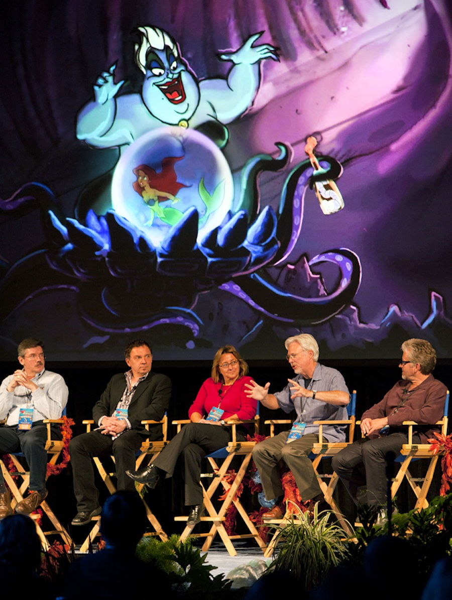 "Guests at ""Little Mermaid Meet-Up"" Enjoy Rare Opportunity to Meet Imagineers, Animators"