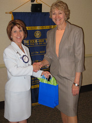 Mrs. Forster Honored at Delaware Rotary for Excellence In Teaching