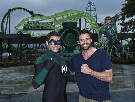 hugh Jackman Green Lantern 2