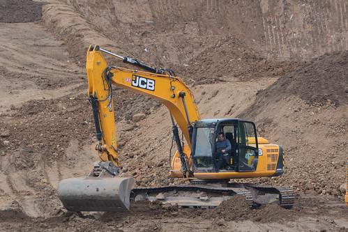 JCB JS220 LC Hydraulic Excavator