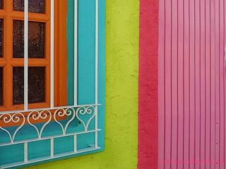 casa de muchos colores