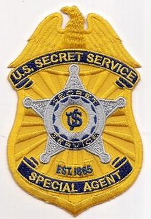 Secret service special agent badgeSecret Service Agents Badge