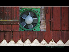 Scheunenlfter / barn fan (Howdys) Tags: germany wand landwi