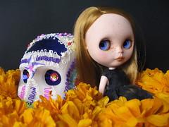 El primer dia de muertos mexicano para Abby