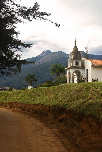 braganca paulista church dirt mountain represa road sp tree travel village