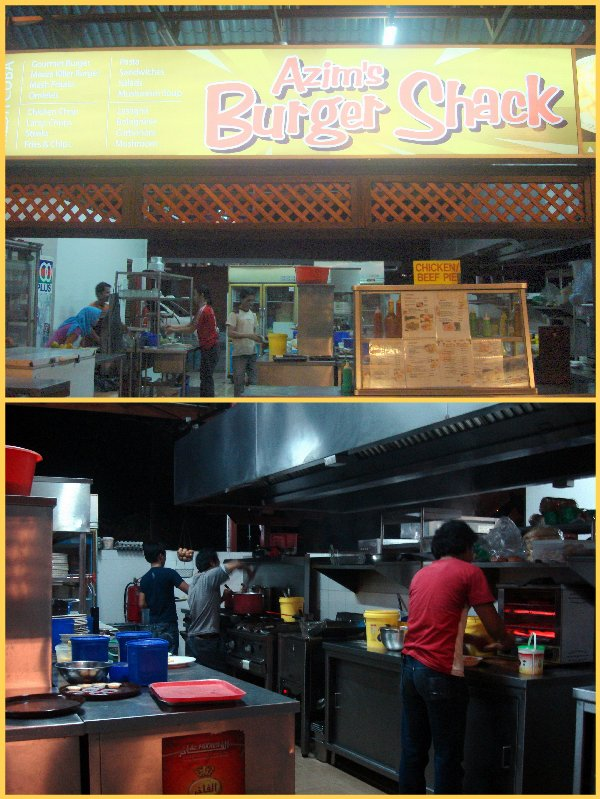 azim burger
