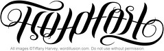 """Hold Fast"" Ambigram"