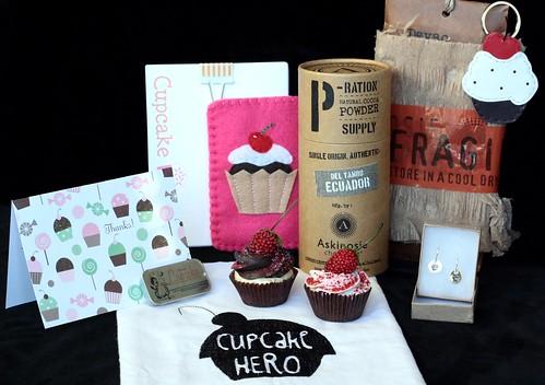Cupcake Hero Prizes