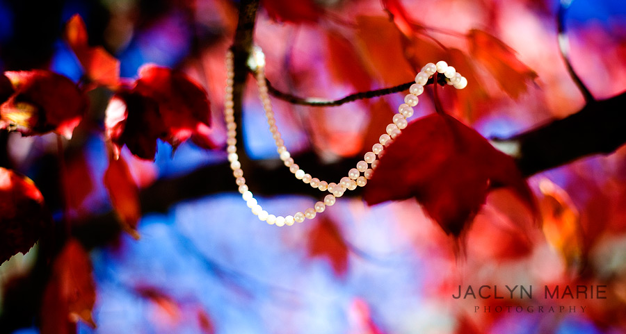 wedding jewelry pearls photo