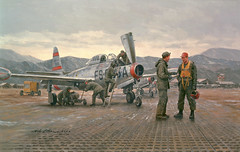 Mission from Taegu by Gil Cohen (The National Guard) Tags: usa heritage america army us unitedstates military air unitedstatesofamerica paintings guard national nationalguard historical series airforce
