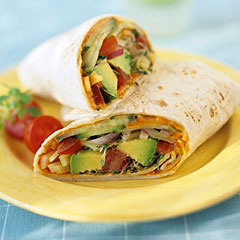 healthy-vegetable-wrap
