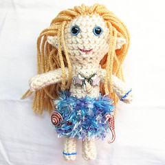 Blond Mermaid Plushie