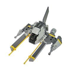 Takumashii - VV (Fredoichi) Tags: fighter lego space shooter shootemup starfighter gradius shmup vicviper novvember fredoichi