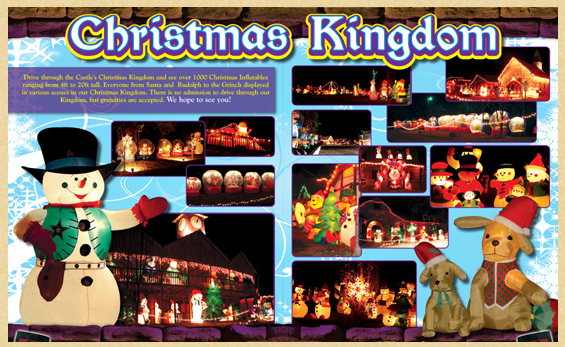 Christmas Kingdom at The Castle of Muskogee