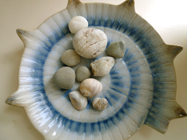 another stone, another shell, another circle