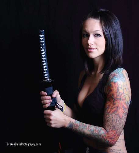 samurai sword. sexy. tattoo