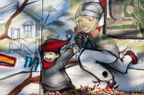 Graffiti Ruins Murals