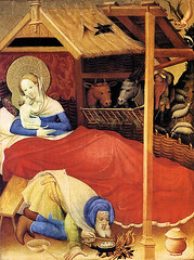 Konrad von Soest Geburt Christi 1404