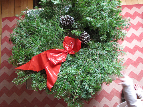 Christmas Wreath (Before)