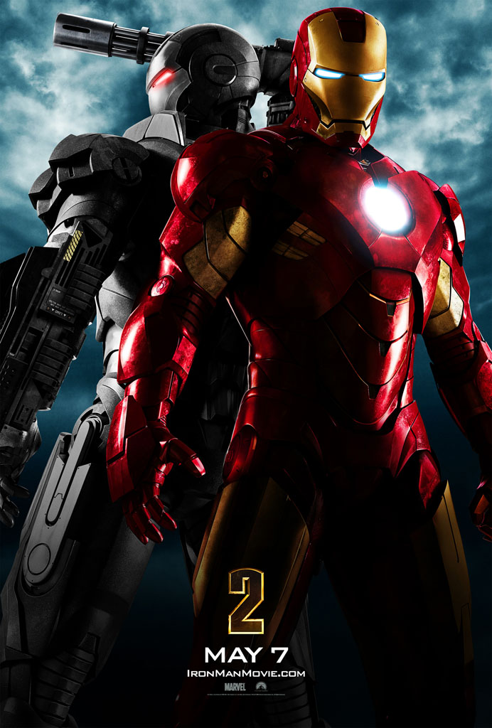 Poster con Iron Man y War Machine