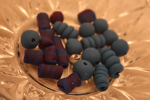 Homemade Sculpty Beads