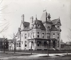 Wells W. Leggett house (southofbloor) Tags: park house building stone architecture detroit brush empire second mansion
