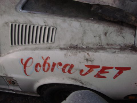 68 Cobra Jet Mustang Barn Find