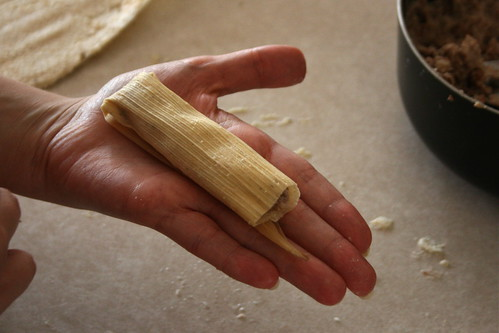 Tamale - rolled